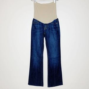 7 FOR ALL MANKIND Maternity Flare Jean Size 26